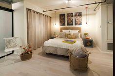 Exceptional Susan Manrao Design   Venice Beach Loft · Curtain ClosetCurtains On Closet  DoorsMirrored ...