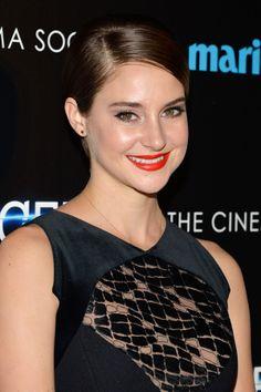 Get the look: Shailene Woodley's  Divergent  premiere makeup