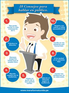 Un buen líder debe ser un buen orador, te compartimos 10 consejos para tener en cuenta a la hora de hablar en público