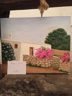 Menorca art schilderij