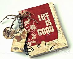 Life is good Life Is Good, Scrapbooking, Mint, Gift Wrapping, Good Things, Templates, Base, Album, Gift Wrapping Paper