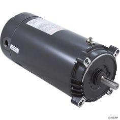 Motor, Cent, 1.0hp,115v/230v,1spd,SF 1.40, 56C fr,C-Face Key,SK1102,.