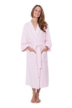 Women s Luxury Terry Cloth Bathrobe – Bamboo Viscose Robe by Texere  (Ecovaganza 5496c1f18