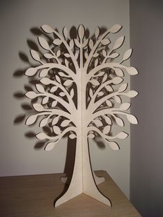 3D Slot -Together Wooden Wishing Tree. $29.99, via Etsy.