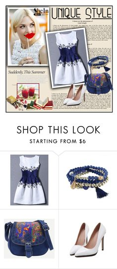 """Shein 10/II"" by merima-p ❤ liked on Polyvore featuring Ermanno Scervino and Guerlain"
