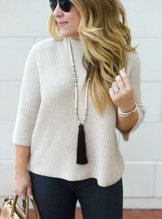 Tassel Necklace Cameron Village Raleigh North Carolina Coffee Beans and Bobby Pins Blog Blogger Fashion Photography