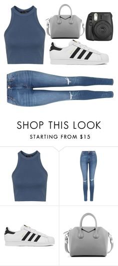 """Untitled #48"" by ahu-ceren-turker on Polyvore featuring Topshop, adidas, Givenchy, women's clothing, women, female, woman, misses and juniors"