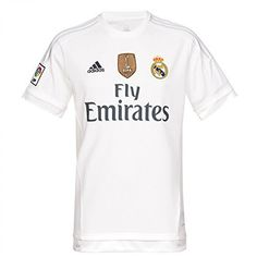 Adidas FC Real Madrid domicile 2015 2016-shirt avec l insigne de Champion 2ad507724130