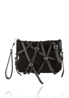 Alexander Wang KIRSTEN CLUTCH WITH BLACKHARDWARE