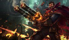ArtStation - Graves - League of Legends, Jason Chan