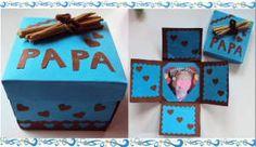Idee Cadeau Fete Des Peres 2019 - Lembrancinha Caixa Surpresa Para o Papai - Monde du Cadeau Kids Crafts, Preschool Crafts, Diy And Crafts, Fathers Day Presents, Fathers Day Crafts, Daddy Day, Mother And Father, Father Sday, Gift Guide