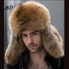 Men's Accessories Oversized Real Big Raccoon Fur Earmuffs Lovely Personality Plush Fur Ear Cover Warm Girls Earflap Winter Profit Small Apparel Accessories