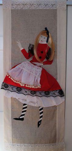"""Makatka""""Alice I """"(Decorative fabric)"""