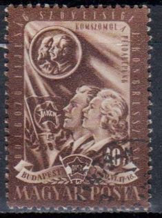 Hungary - Vladimir Lenin on stamps theme.
