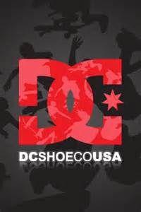 DC Shoes Logo iPhone Wallpaper