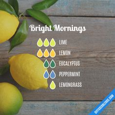 Bright Mornings - Essential Oil Diffuser Blend