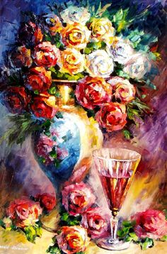 www.etsy.com/shop/AfremovArtStudio #art #painting #Impressionism #homedecor