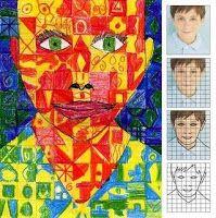 Mrs. Art Teacher!: 6-8th Identity unit ideas