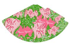 Lilly Pulitzer Themed Partyhat by ~WABSINC on deviantART