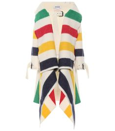 Striped Wool Coat | Monse - mytheresa.com