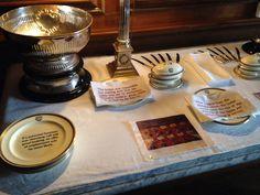 Dunster Castle Dining Room interpretation