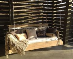 Custom built and designed bed swing by CC Bed swings in Birmingham Al  www.facebook.com/ccbedswings
