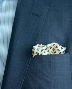 How To Start Wearing A Pocket Square Style With Handkerchief Pocketsquares
