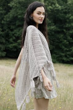 Wool Me Tender Collection | Stuck On You Shawl | Crochet it | woolandthegang.com