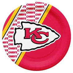Kansas City Chiefs Disposable Paper Plates