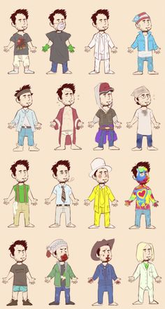 The many outfits of Charlie Kelly Charlie Kelly, Charlie Day, My Name Is Earl, Sunny In Philadelphia, It's Always Sunny, Cool Bars, Stupid Memes, New Shows, Character Design Inspiration