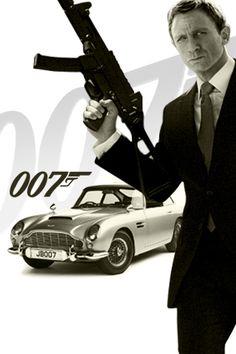 #JamesBond 007