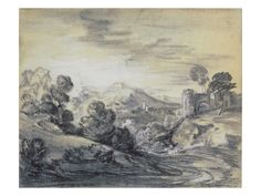 Category:Drawings by Thomas Gainsborough Thomas Gainsborough, Framed Prints, Canvas Prints, Art Prints, Poster Size Prints, Thomas Moran, Wooded Landscaping, White Chalk, Thing 1