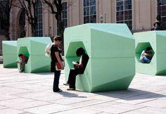STYRODUR --- Yardfurniture - modular public seating in Vienna - from Ppag…