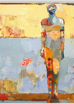 Jylian Gustlin-Contemporary Artist - Figurative Painting