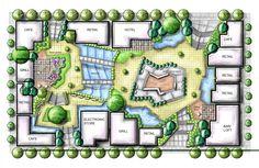"""Poseidon Plaza"" Urban design project"