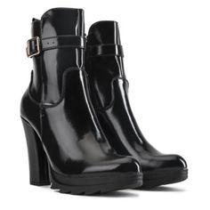 DbDk Women's Walnut-1 High Heel Ankle Boot