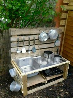 Mud kitchen @ Buzybees Montessori   Free government funding places available  @ Buzybees Montessori.074 14141314  buzybees.net