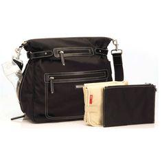 Claire Backpack Shoulder Sak in Black from PoshTots