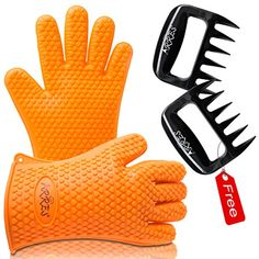 [$9.99 save 83%] Amazon Lightning Deal 89% claimed: Barbecue Gloves & Pulled Pork Claws Set ? Silicone Heat Resi... #LavaHot http://www.lavahotdeals.com/us/cheap/amazon-lightning-deal-89-claimed-barbecue-gloves-pulled/139692?utm_source=pinterest&utm_medium=rss&utm_campaign=at_lavahotdealsus