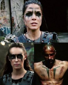 Lincoln and Lexa aren't replaceable. They just wanted peace and got killed for it. Octavia honoring them both with her own war paint. I'm crying. IM SO PROUD!!