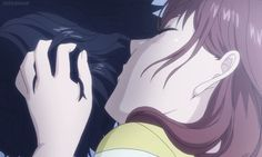 Animated gif about love in Ao Haru Ride by mello Kenma Kozume, Old Anime, Anime Manga, Ao Haru Ride Kou, Futaba Y Kou, Blue Springs Ride, Anime Couples Drawings, Cute Little Things, Fanarts Anime