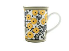 VERA BRADLEY Go Wild Porcelain Mug $12.99 SHIPPED FREE~~~ALSO FREE LOCAL DELIVERY NOW AVAILABLE WITHIN 10 MILES OF SANTA MONICA, CALIFORNIA ZIP CODE 90404~~~