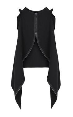 Objectify Zipper Tank by Maticevski for Preorder on Moda Operandi - Herren- und Damenmode - Kleidung Fashion Details, Look Fashion, Girl Fashion, Fashion Dresses, Womens Fashion, Fashion Design, Fashion Trends, Fashion Lookbook, Mode Style