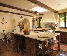 Spanish Style Kitchen Home Design And Decor Reviews