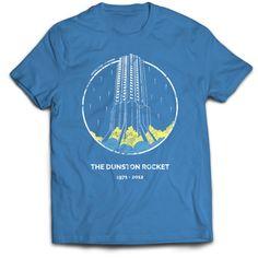 The Dunston Rocket T-Shirt by Since1982 - shop.since1982.co.uk f1f629ec3c3