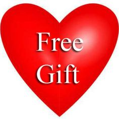 Free Gift with Purchase for Valentine's Day, limited time offer!