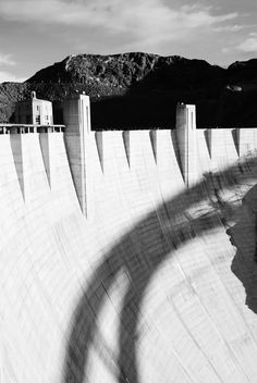 Hoover Dam, yes it's just a container of water, but awesome none the less, especially for a history lover.