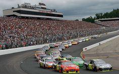 New Hampshire Motor Speedway...NASCAR comes in the fall to Loudon. You've got to experience it at least once.