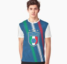 de471501c97651  Italy Football  Redbubble graphic t-shirt by Fimbis italy