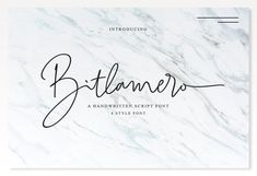 4 Style Font - Bitlamero Script by Ijemrockart on @creativemarket